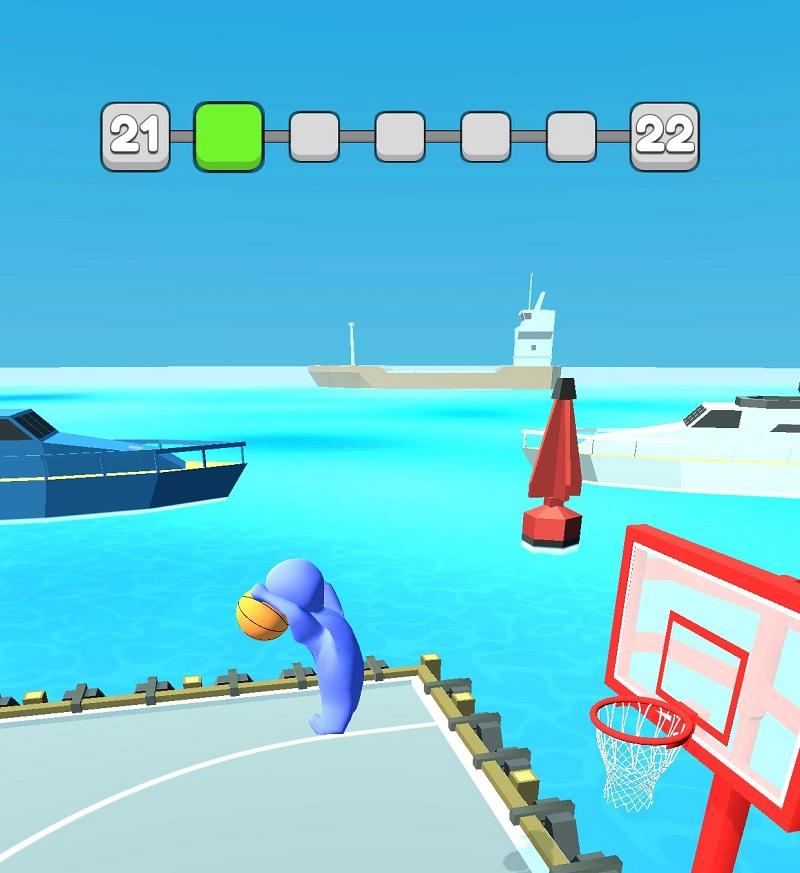 """Tải game Basket dunk 3D - trải nghiệm cảm giác """"lọt lưới"""" cực đã"""