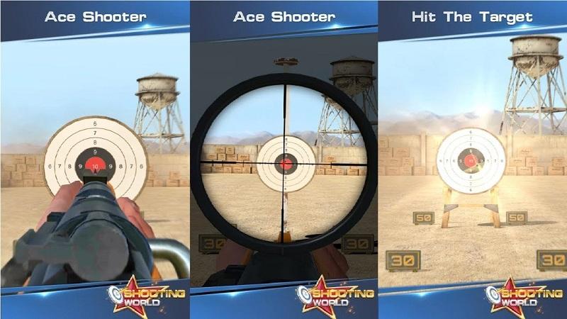 Game Shooting world - màn đấu súng giành cho các xạ thủ