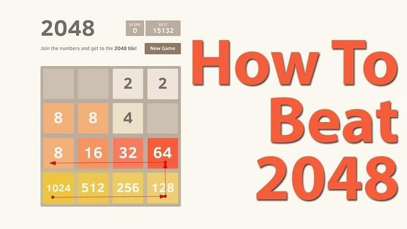 Game 2048 - Trò chơi trí tuệ đuổi bắt với những con số