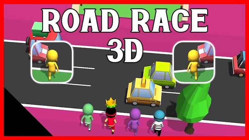 Game Road Race 3D - Làm cách nào băng qua đường 3D nhanh nhất?