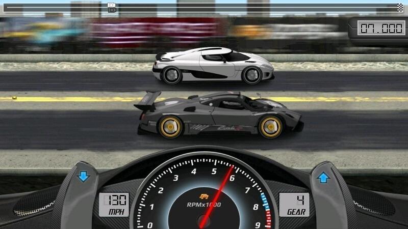 Game Drag Racing và những màn đua xe đầy kịch tính và hấp dẫn
