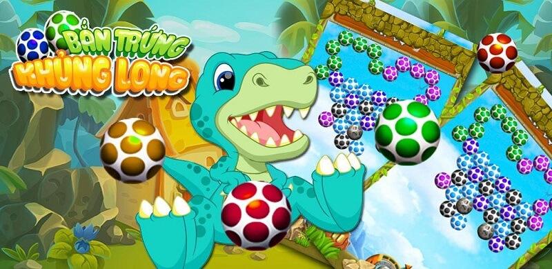 Game bắn trứng khủng long – giải trí với những quả bóng màu