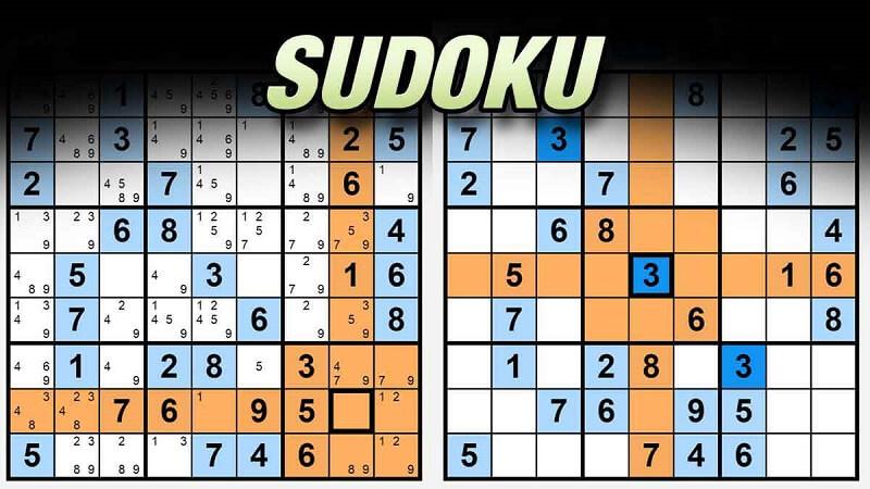 Game Sudoku - Trò chơi trí tuệ được nhiều người ưa thích nhất