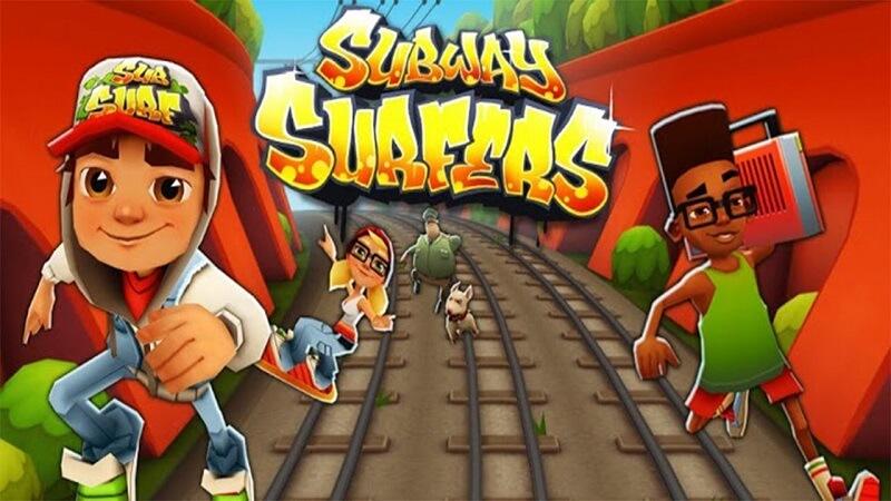 Chơi game Subway Surfers - Bước vào cuộc đua với đường tàu