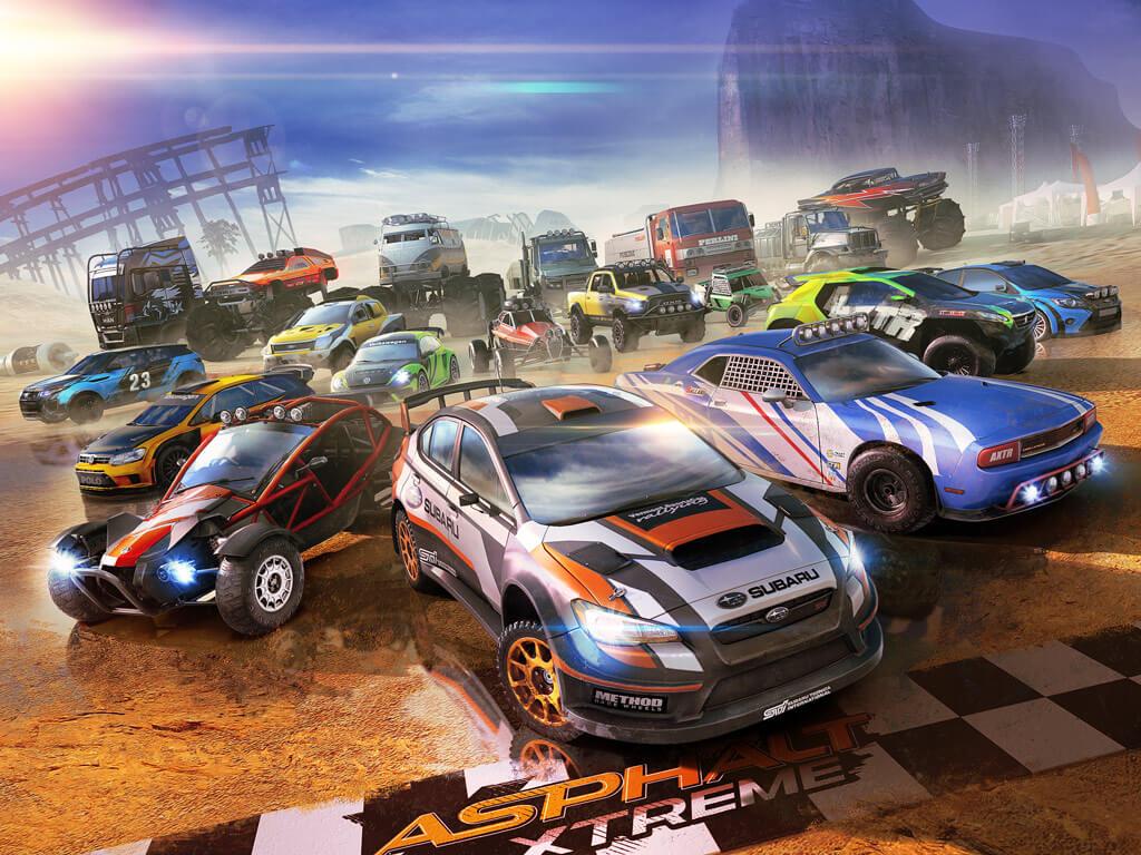 Asphalt Xtreme - Game đua xe đã đi vào ngôi đền huyền thoại