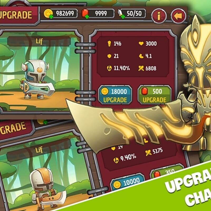 Game chiến binh huyền thoại: Cuộc chiến của chiến binh bất tử