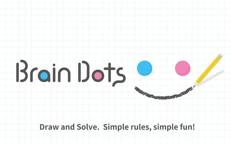 Brain dots game - Tựa game hách não kinh điển dành cho mobile