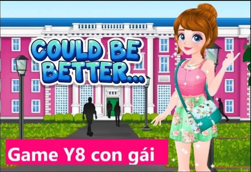 Game Y8 con gái
