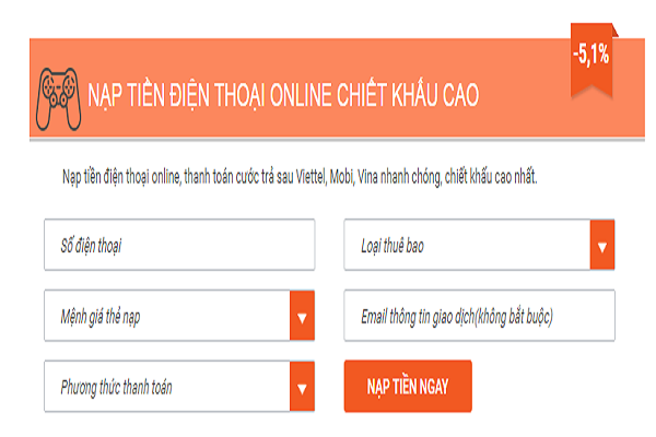 Cách mua thẻ điện thoại bằng sms Viettel, Vinafone, Mobifone