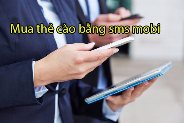 Hướng dẫn cách mua mã thẻ cào qua SMS mobifone