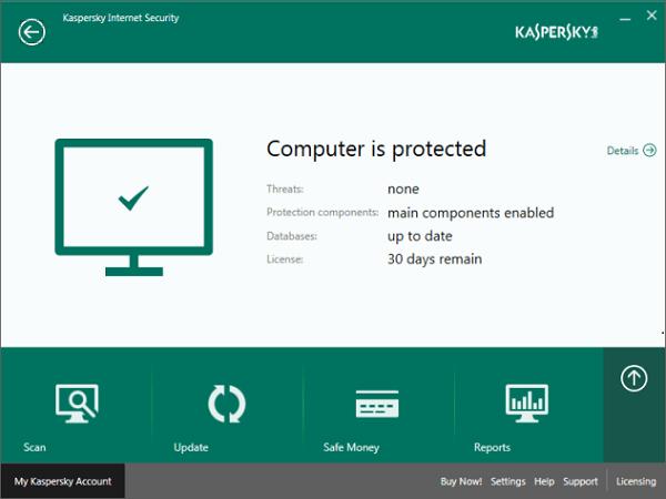 phần mềm kaspersky 2016