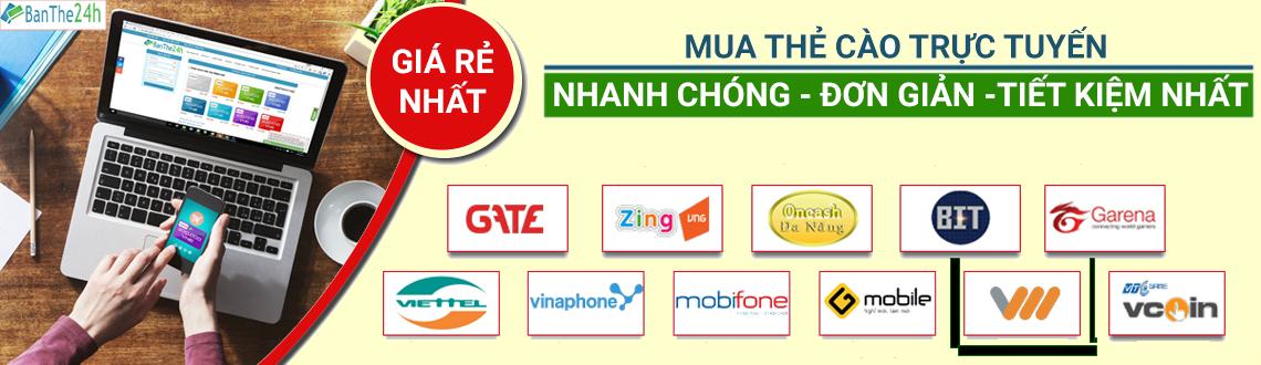 Cách mua thẻ cào Vietnamobile online
