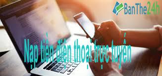 Nạp tiền điện thoại trực tuyến khuyến mãi Vinaphone