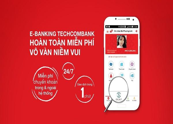đăng ký internet banking techcombank