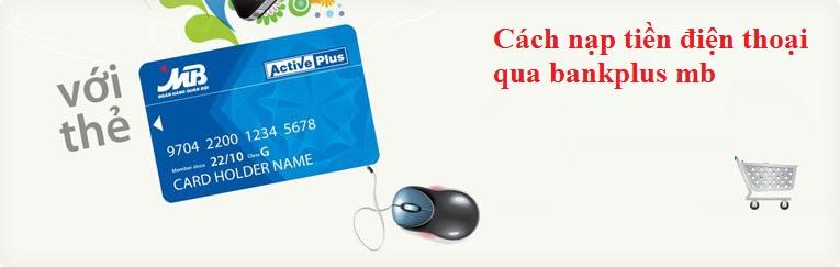 Dịch vụ bankplus của MBbank