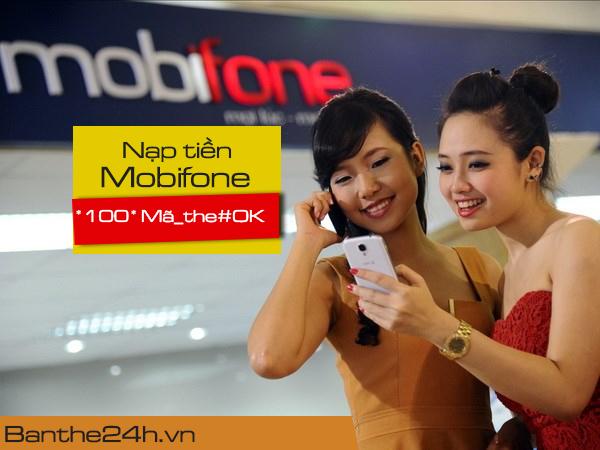 Cách nạp tiền Mobifone