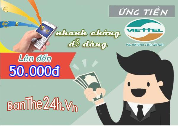 Hướng dẫn cách ứng tiền Viettel mới nhất, dễ dàng nhất