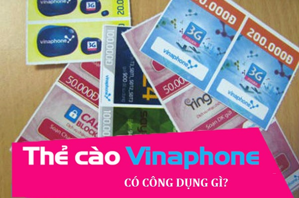 Công dụng của thẻ Vinaphone