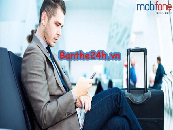 Đăng ký gói cước chuyển vùng quốc tế B3 Mobifone