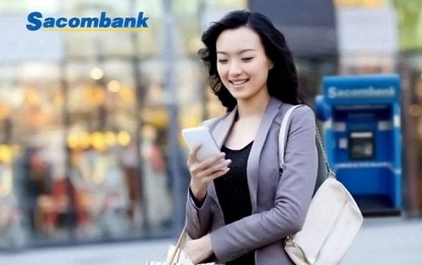 Nạp tiền điện thoại qua internet banking Sacombank