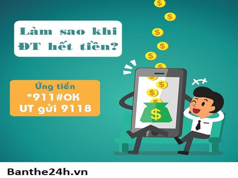 dịch vụ ứng tiền sim viettel