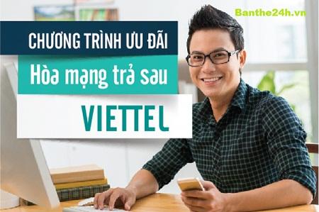 Gói cước Corporate trả sau Viettel