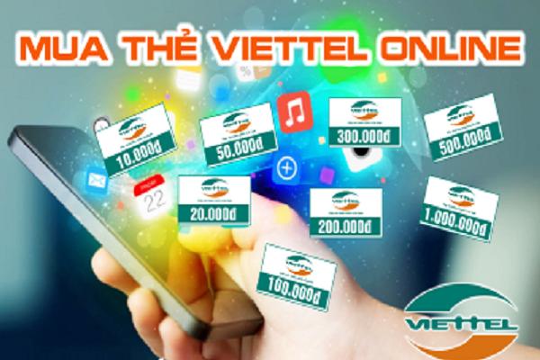 Mua thẻ điện thoại bằng sms Viettle