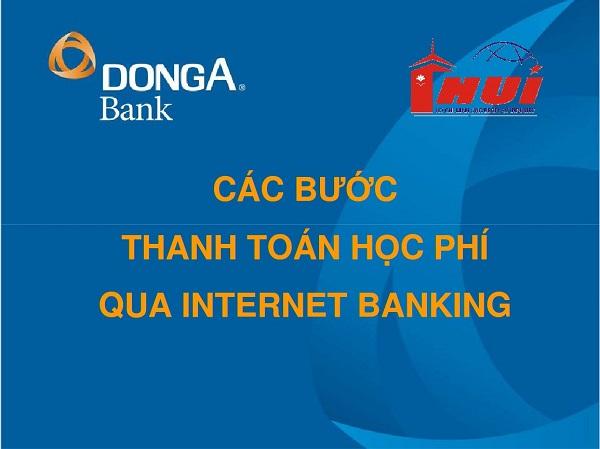 đăng ký internet banking đông á