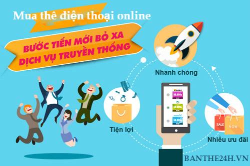 Hướng dẫn mua card cho điện thoại Vinaphone online đơn giản