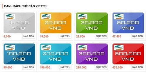Hướng dẫn cách nạp tiền Viettel bằng thẻ cào