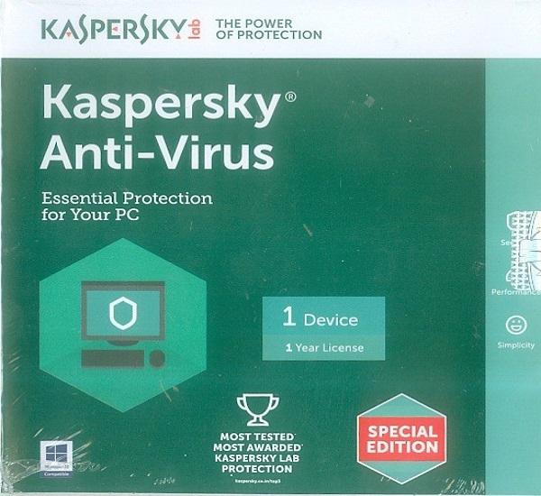 Mua kaspersky antivirus 2016 key