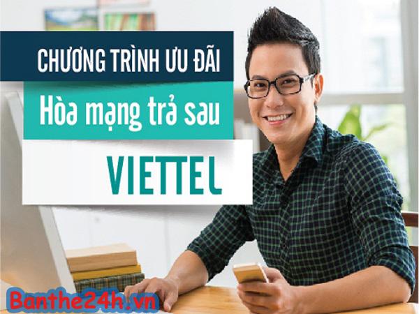 Khuyến mãi hòa mạng thuê bao trả sau Viettel tháng 5/2017