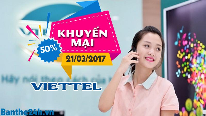 Chương trình khuyến mại Viettel