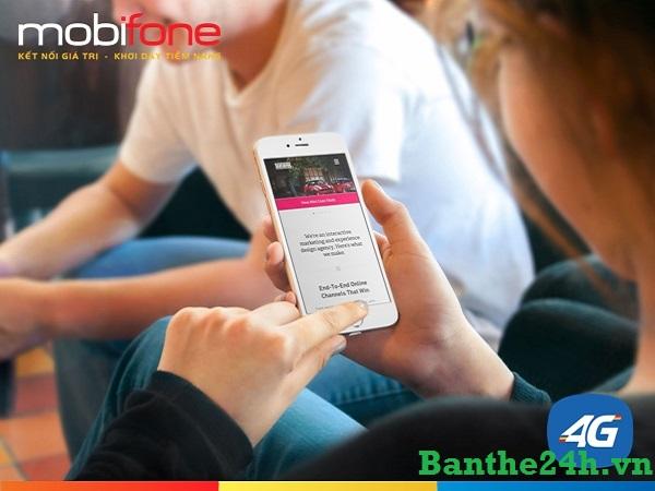 Kích hoạt sim 4G Mobifone nhanh đơn giản