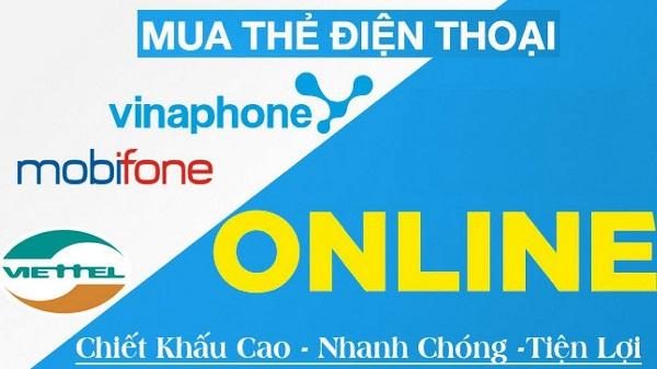 Bán card điện thoại online xu hướng mua bán không dùng tiền mặt