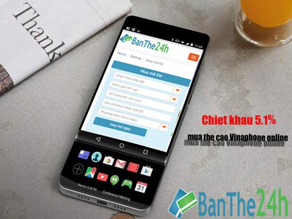 mua thẻ điện thoại qua google play banthe24h