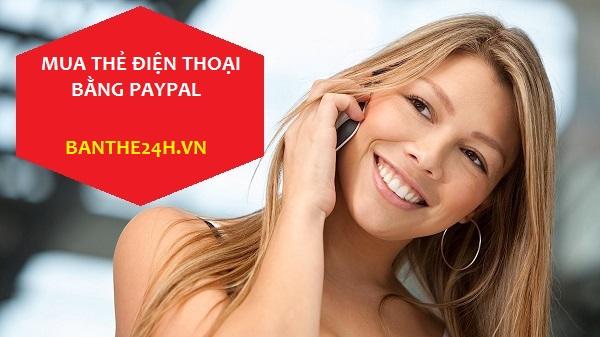 Hướng dẫn thanh toán quốc tế qua paypal để mua thẻ cào