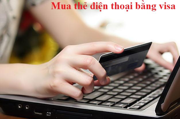Mua card cho điện thoại bằng Visa