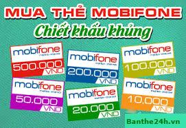 Hướng dẫn mua mã thẻ nhanh mạng Mobifone tại Banthe24h.vn