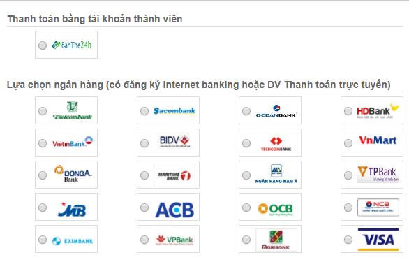 mua card qua agribank và vietinbank