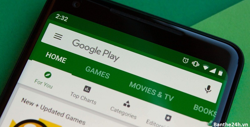 mua thẻ điện thoại thẻ cào điện thoại qua google play