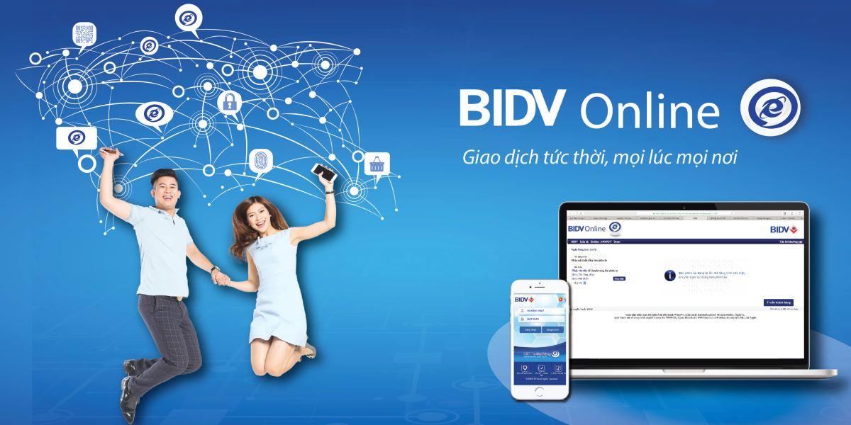 mua thẻ điện thoại qua internet banking BIDV