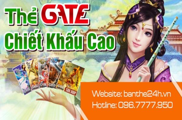 Mua thẻ Gate online
