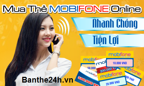Mua thẻ Mobifone trực tuyến