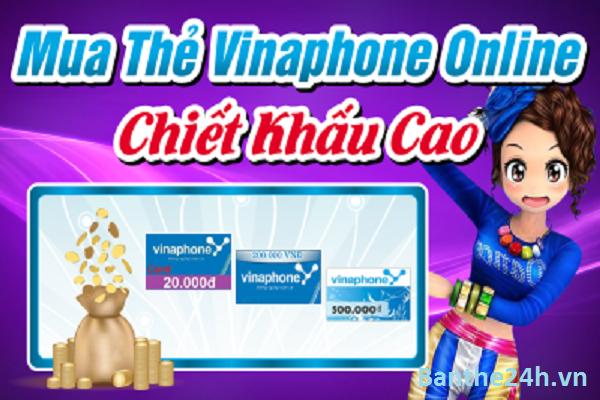 Mua thẻ nạp Vinaphone online