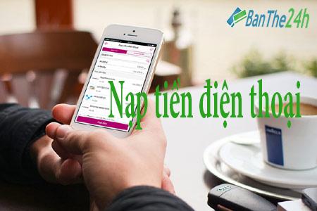 Chiết khấu mua mã thẻ, nạp tiền điện thoại online tại Banthe24h.vn