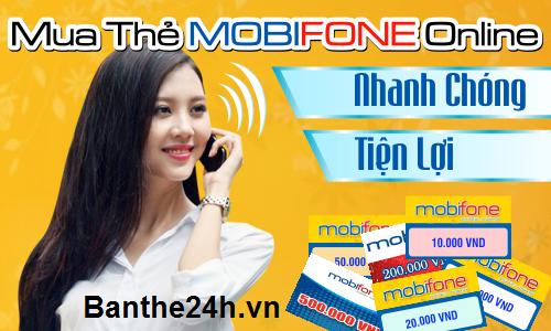 Mua thẻ Vinaphone trực tuyến