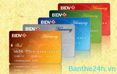 Nạp tiền điện thoại trực tuyến thông qua thẻ BIDV tại Banthe24h.vn