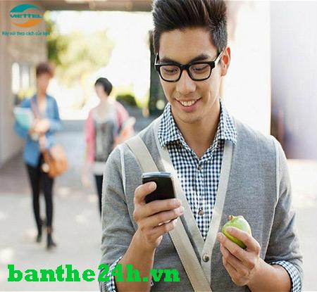 Nạp tiền điện thoại Viettel cho người khác