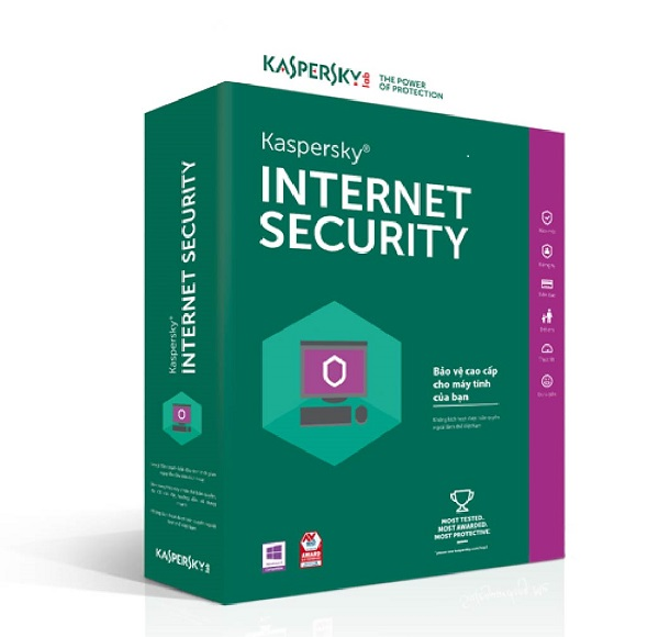 ưu điểm của phần mềm diệt virus kaspersky internet security